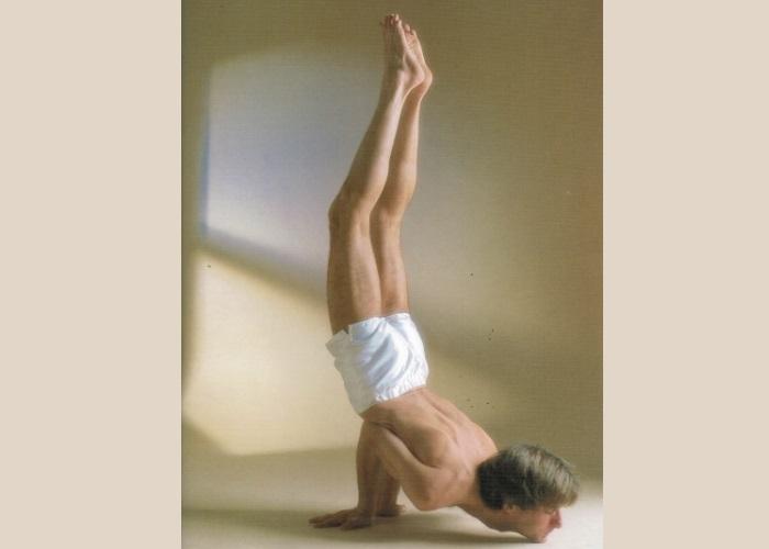 Mayurasana variante_Sivananda Yoga Centre