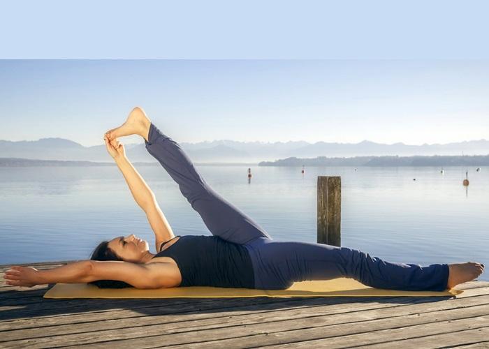 Supta Padangusthasana-il giornale dello yoga