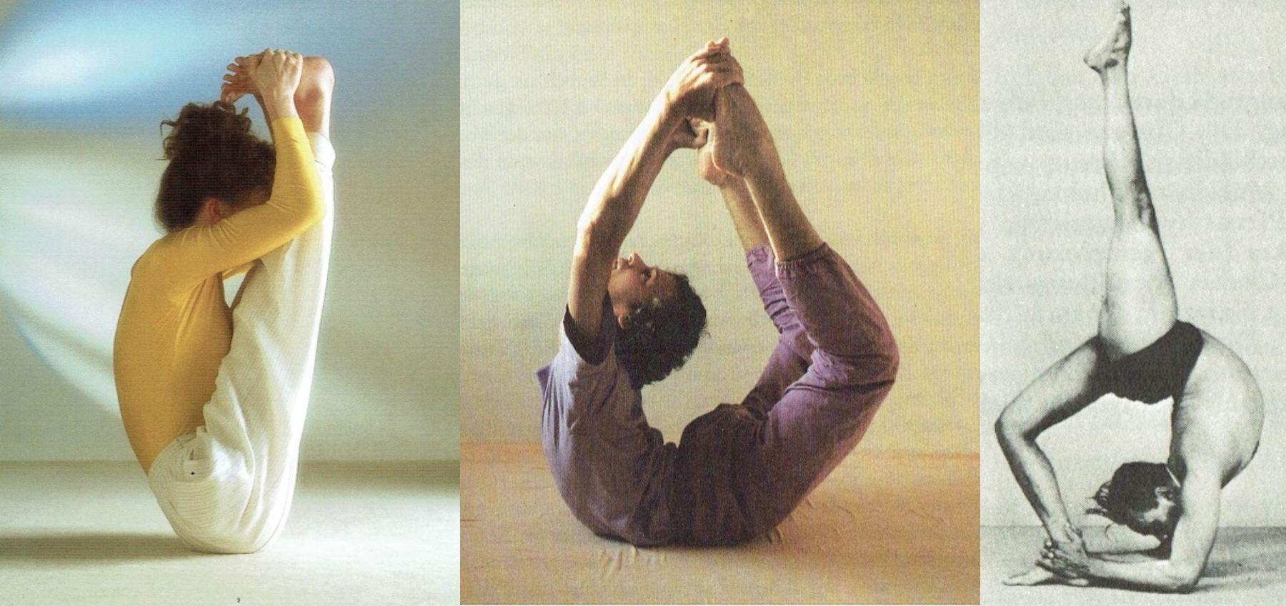 Bildcollage aus den Fotos der Yoga Online Ausstellung