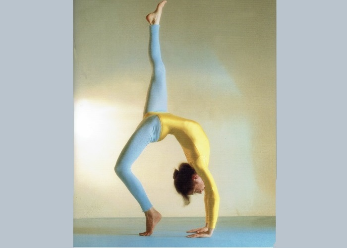 Eka Pada Chakrasana-Sivananda Yoga Zentrum