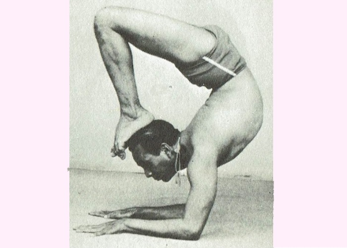 Vrishchikasana-B.K.S. Iyengar