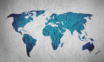 Weltkarte-Bild von Yuri_B auf pixabay