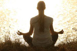 Meditation-Bild von pexels auf pixabay