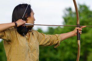 Bogenschießen-Bild von Hebi B. auf pixabay