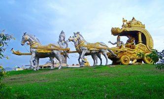 Krishna-Arjuna-Bild von Bishnu Sarangi auf pixabay